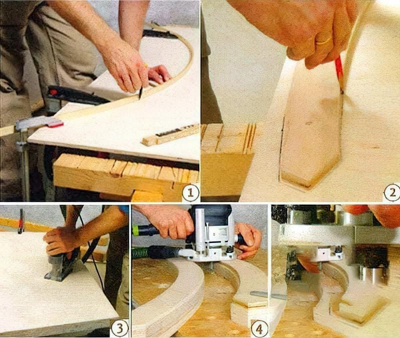 Як зробити крісло-шезлонг своїми руками з дерева 1