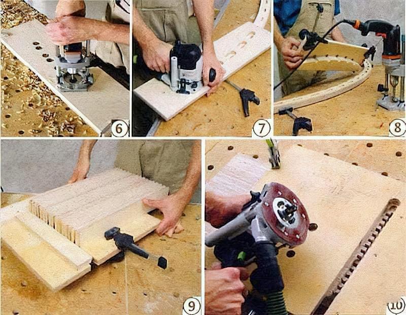 Як зробити крісло-шезлонг своїми руками з дерева 2
