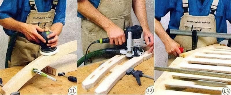 Як зробити крісло-шезлонг своїми руками з дерева 3