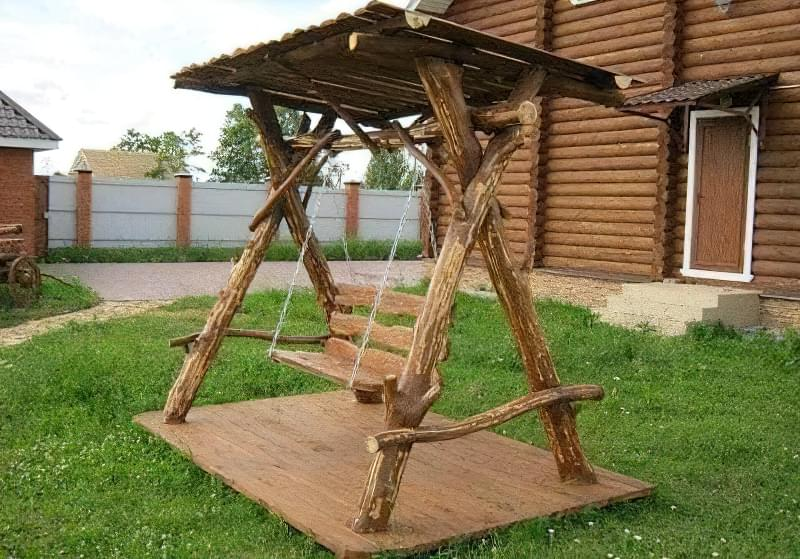 Як зробити садові гойдалки з дерева: ідеї для натхнення і ...: http://isu.org.ua/yak-zrobyty-sadovi-gojdalky-z-dereva-ideyi-dlya-nathnennya-i-instruktsiyi-po-vygotovlennyu/
