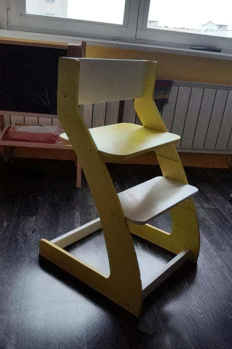 Дитячий стілець своїми руками 4