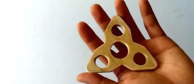 Як зробити спінер своїми руками (2 види конструкцій) 12