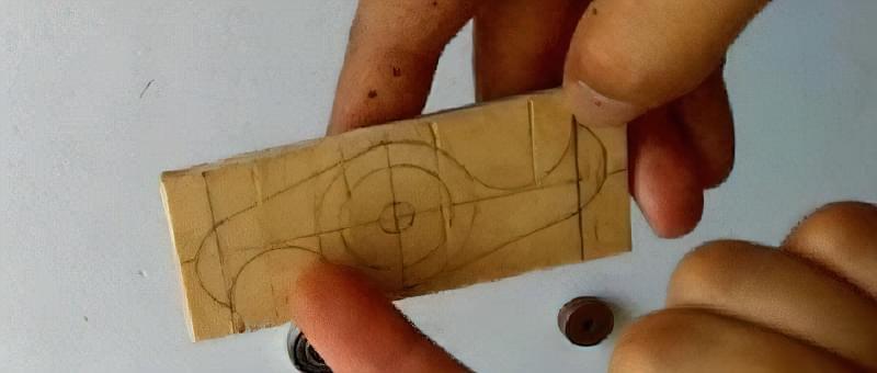 Як зробити спінер своїми руками (2 види конструкцій) 13