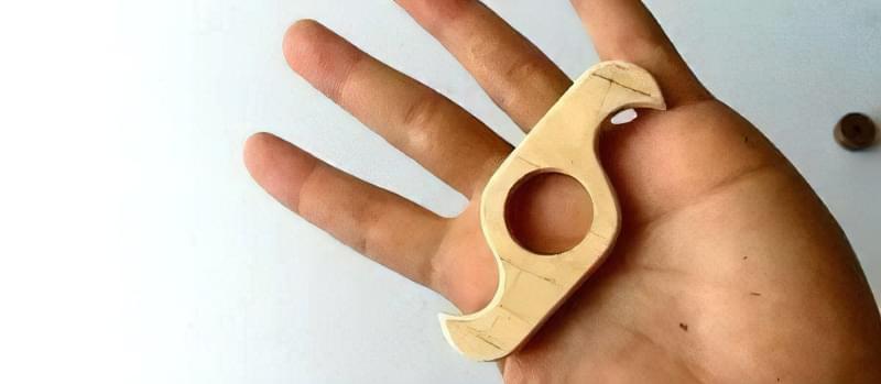 Як зробити спінер своїми руками (2 види конструкцій) 14