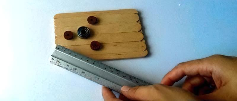 Як зробити спінер своїми руками (2 види конструкцій) 4