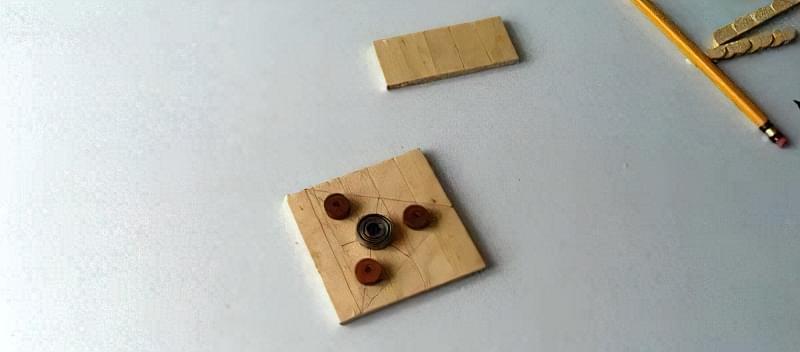 Як зробити спінер своїми руками (2 види конструкцій) 8