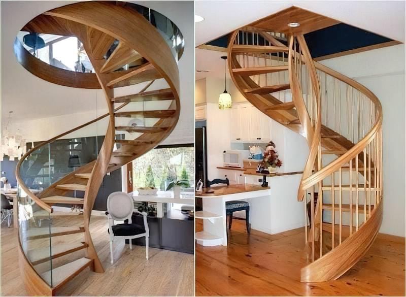 Гвинтові сходи на другий поверх 7
