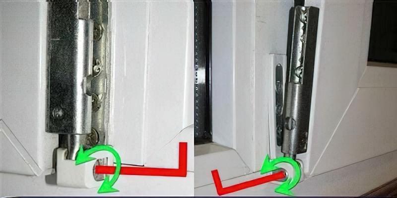 Регулювання пластикових вікон своїми руками 2