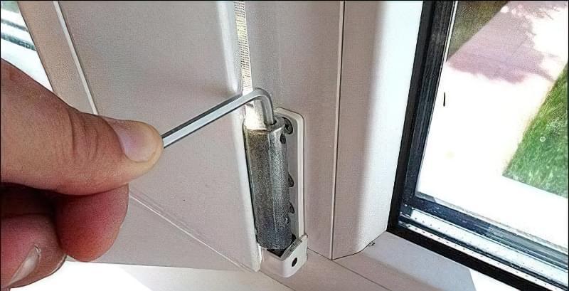 Регулювання пластикових вікон своїми руками 10