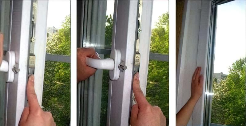 Регулювання пластикових вікон своїми руками 4