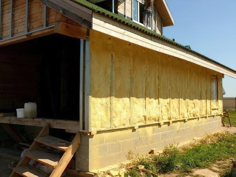 Утеплення дерев'яних стін: технологія і вибір матеріалів 2