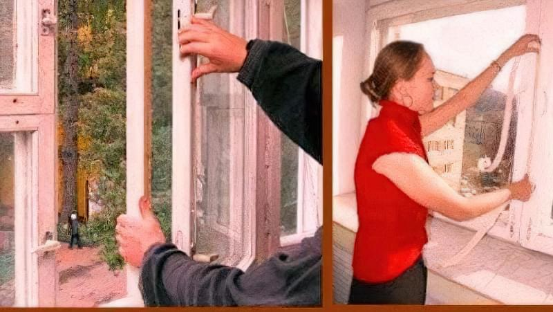 Як утеплити дерев'яні вікна в домашніх умовах 4