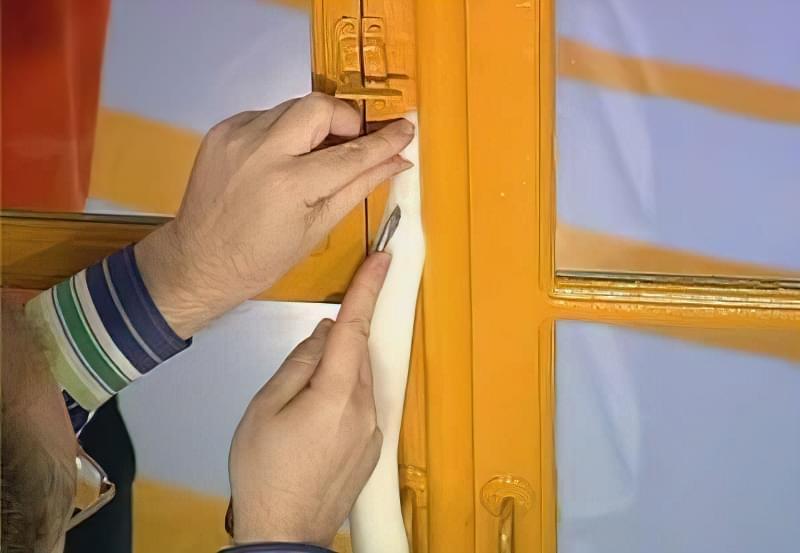 Як утеплити дерев'яні вікна в домашніх умовах 5