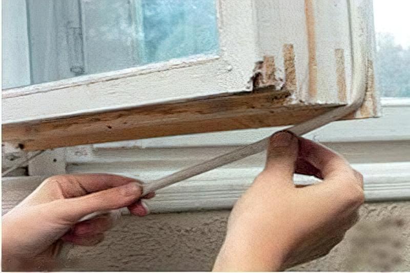 Як утеплити дерев'яні вікна в домашніх умовах 1