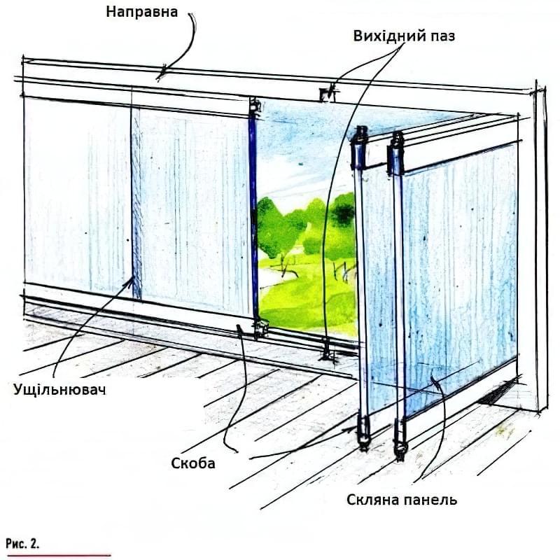 скління веранди і тераси