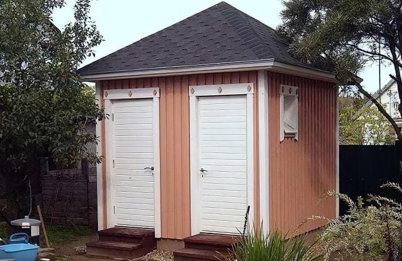 Робимо вуличний туалет на дачі: варіанти і приклад поетапного будівництва 16