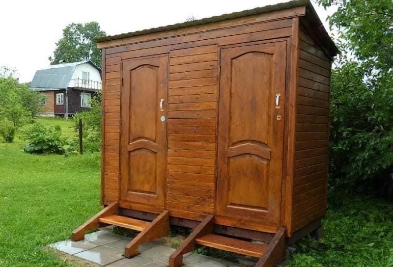 Робимо вуличний туалет на дачі: варіанти і приклад поетапного будівництва 19