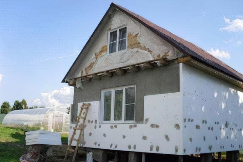 Утеплення фасаду будинку пінопластом: практичні рекомендації 1