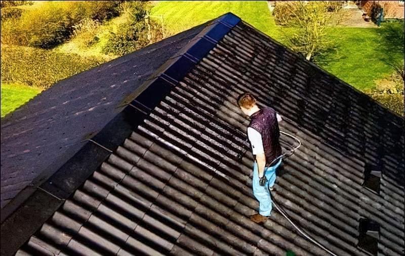 Як пофарбувати дах будинку