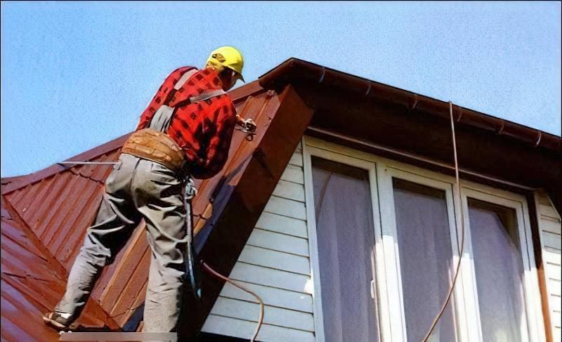 Як пофарбувати дах будинку 1