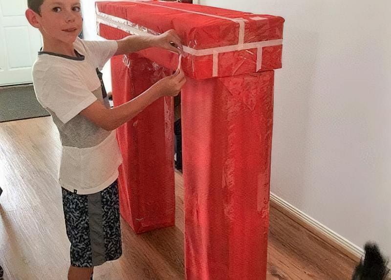 Камін з коробок своїми руками: 15 ідей і 3 майстер-класи з інструкціями 12