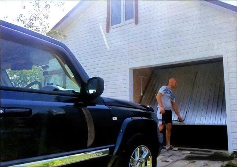 Підйомні ворота для гаража своїми руками
