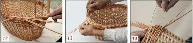 Плетіння кошиків з лози