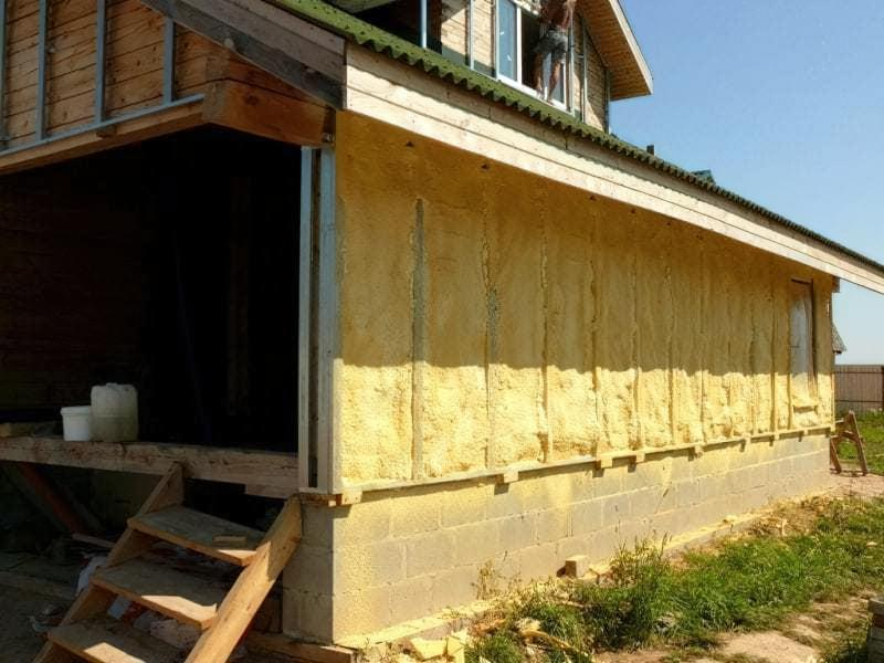 Утеплювач для стін будинку зовні під сайдинг: як використовувати 3