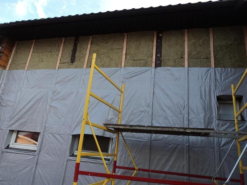 Утеплювач для стін будинку зовні під сайдинг: як використовувати 7