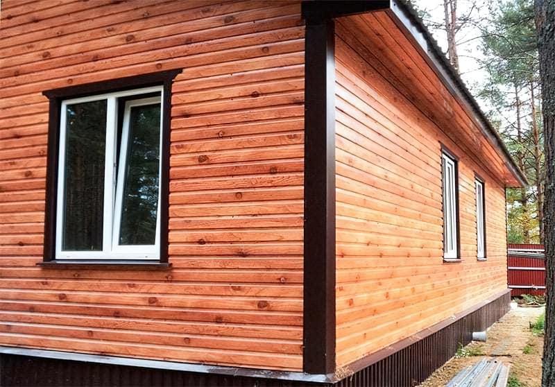 Чим краще обшити дерев'яний будинок зовні – вибір і особливості застосування матеріалів 4