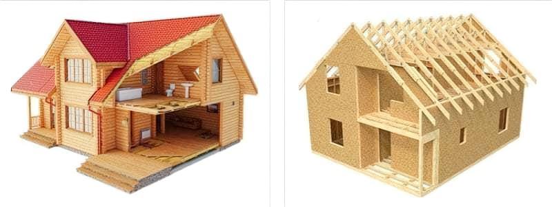 Каркасний будинок або з бруса – який кращий для постійного проживання 4