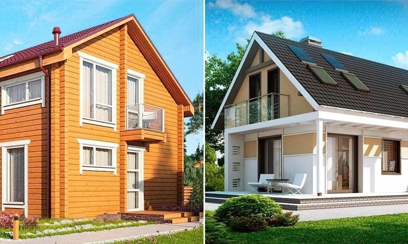 Каркасний будинок або з бруса – який кращий для постійного проживання 1