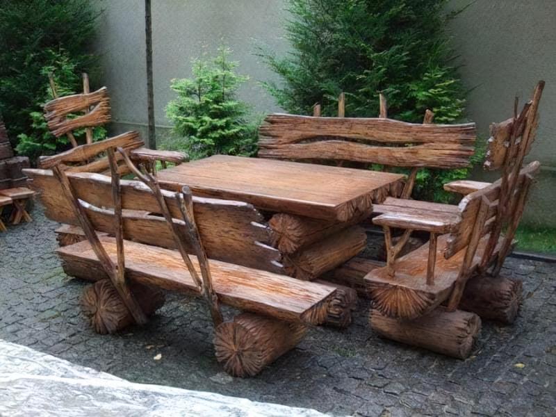 Меблі з дерева своїми руками 15