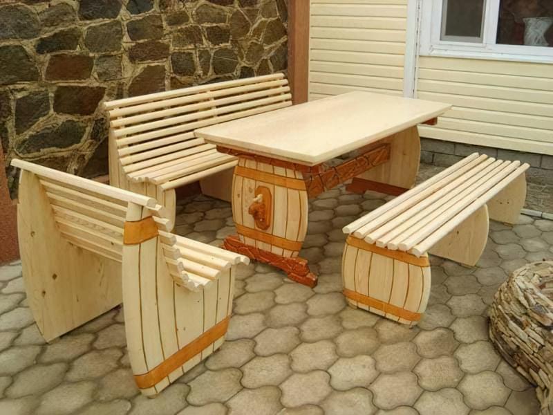 Меблі з дерева своїми руками 10