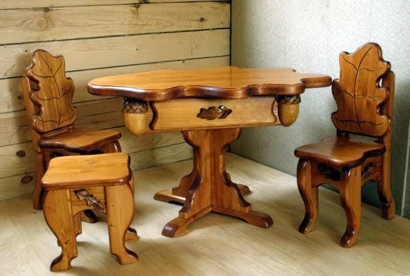 Меблі з дерева своїми руками 1