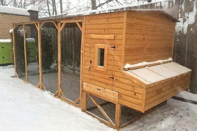 Спорудження зимового курника: планування, утеплення, обігрів 13