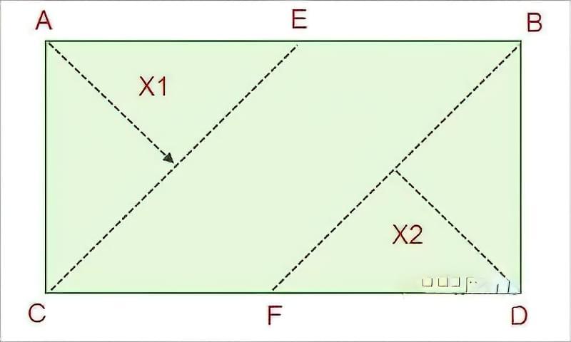 Технологія укладання ламінату по діагоналі своїми руками 3