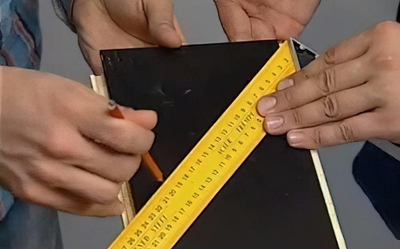 Технологія укладання ламінату по діагоналі своїми руками 7