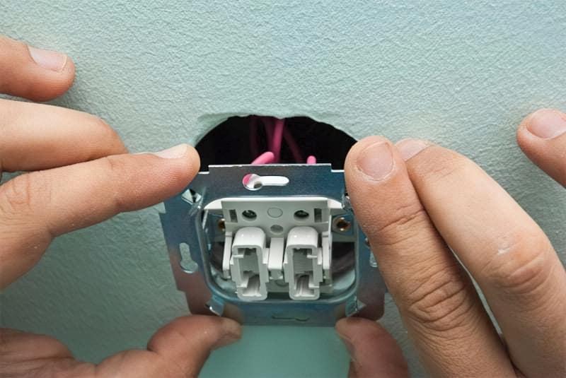 Як правильно підключити вимикач світла 9