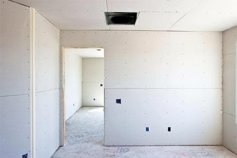 Обшивка стін гіпсокартоном