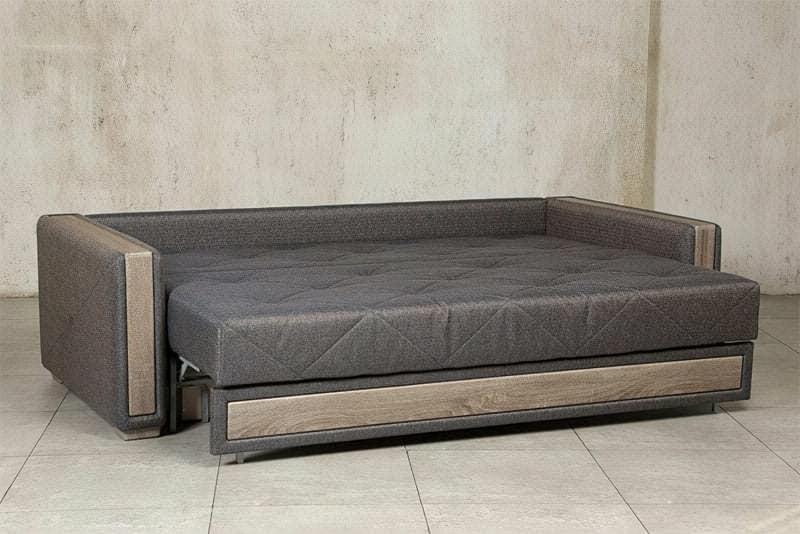 Диван-ліжко Андерссен Бенедикт в розкладеному вигляді
