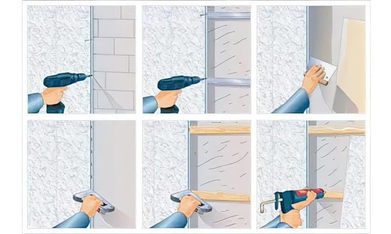 Як кріпити пластикові панелі - покрокова інструкція 3