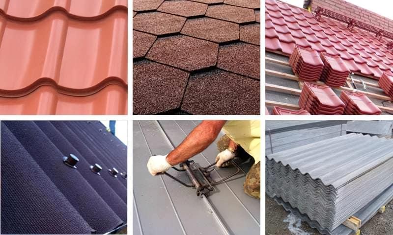Види покрівельних матеріалів для різних типів дахів 1