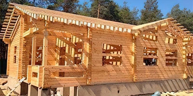 Який фундамент вибрати для будинку з бруса 2