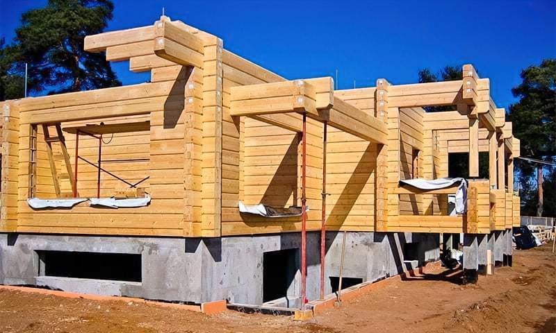 Який фундамент вибрати для будинку з бруса 1