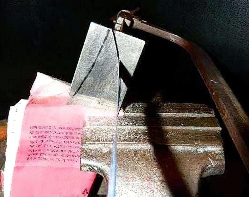 Як зробити метальний ніж своїми руками 4