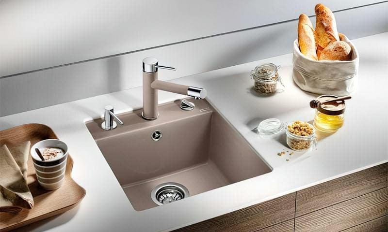 Плюси і недоліки кам'яних кухонних мийок 1