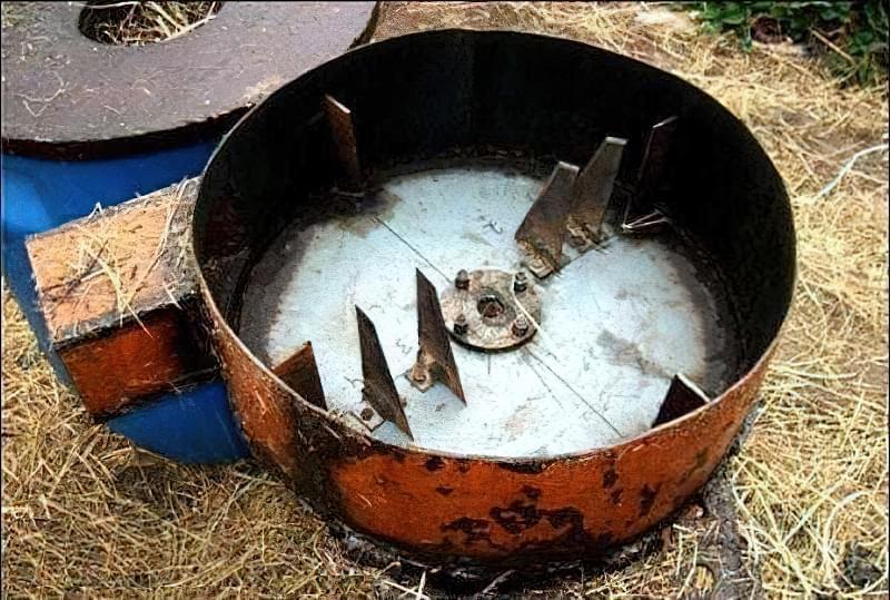 Подрібнювач соломи, сіна, трави своїми руками 5