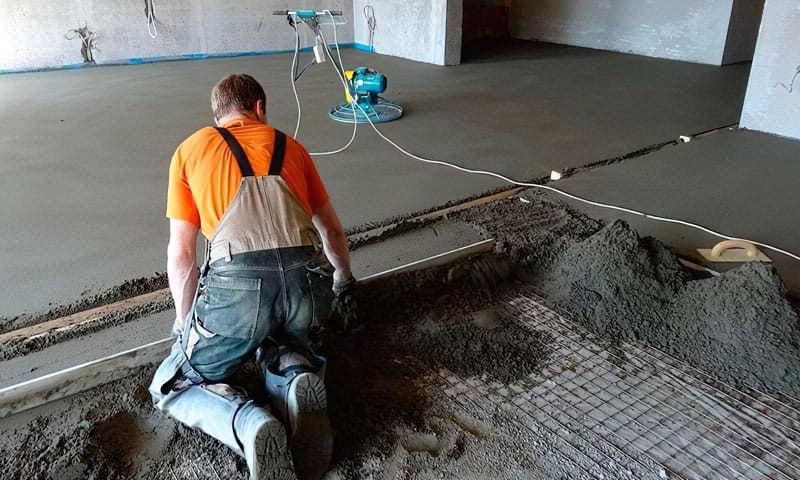 Що таке напівсуха стяжка підлоги, її плюси і мінуси 1