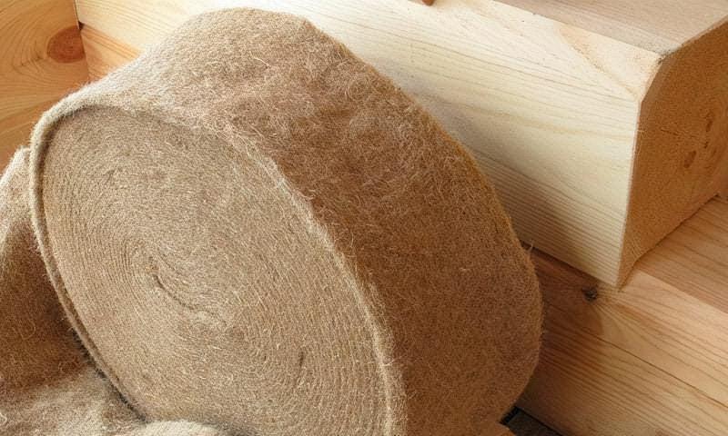 Як вибрати міжвінцевий утеплювач для будинку з бруса або колоди 1